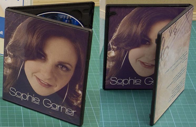 Half Size DVD Case